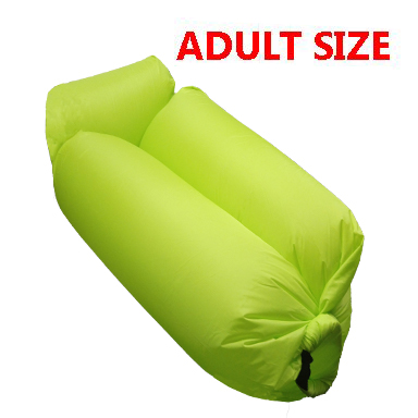 INFLATABLE BED 002 LIGHT GREEN