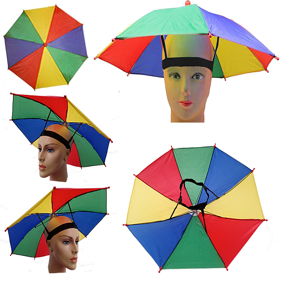 UMB 038 RAINBOW UMBRELLA CAP