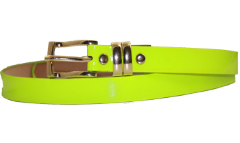Wmb 005 Ab Plain Light Green Belt 1 Dozen