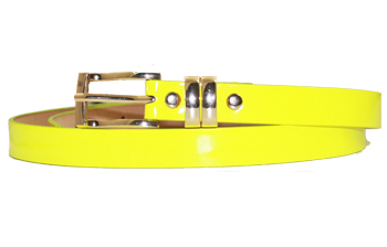 Wmb 008 Ab Plain Yellow Belt 1 Dozen